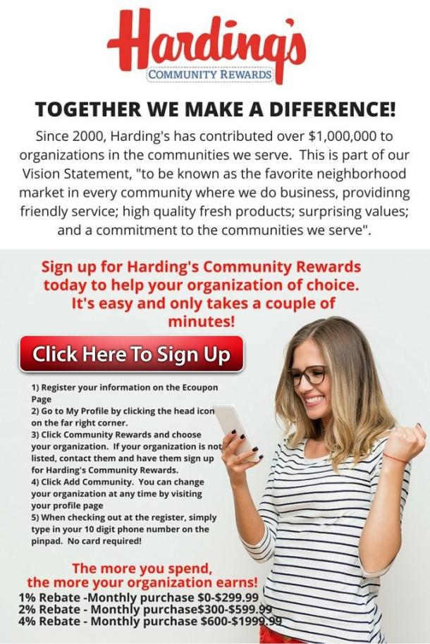 Community Rewards click graphic